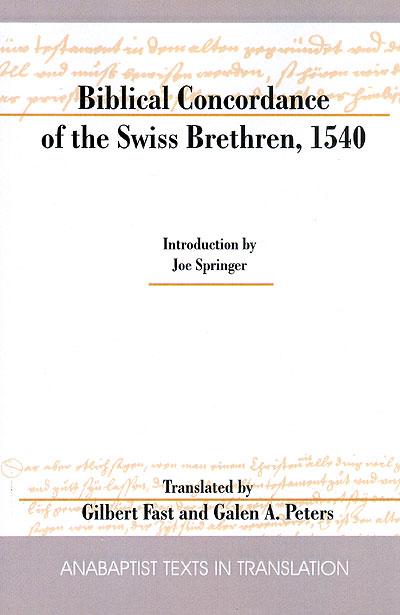 Swiss Brethren Concordance